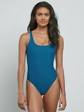 4e3bf74f1db 2018 NWT WOMENS VOLCOM SIMPLY SOLID ONE PIECE SWIMSUIT $78 S ocean