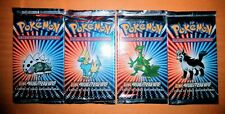 Pokemon VINTAGE Booster Packs - EX Ruby and Sapphire  [SET OF FOUR]