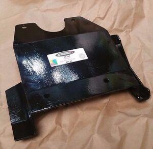TRX450R Full Rear Steel Skid Plate, 05-135