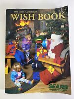 VINTAGE 1992 SEARS CHRISTMAS WISH BOOK CATALOG NES NINTENDO SEGA LEGO BARBIE
