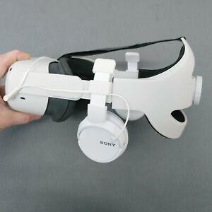 Custom Headphones, Oculus Quest 2 VR headset, aftermarket, elite head strap