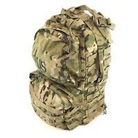 USGI Medium Combat Rucksack, US Army MOLLE Ruck Backpack, Multicam DAMAGED