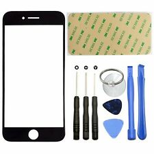 Front Outer Screen Glass Lens Replacement Kit For iphone 7 Plus 5.5' Tool Black