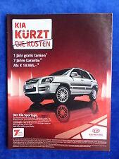 Kia Sportage - Werbeanzeige Reklame Advertisement 2008 __ (218