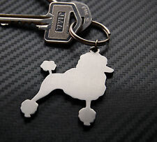 POODLE Dog Lover Breed Animal Keyring Keychain Key Bespoke Stainless Steel Gift