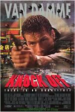 KNOCK OFF MOVIE POSTER Original DS 27x40 JEAN CLAUDE VAN DAMME 1998
