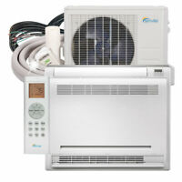 Senville 12000 BTU Floor Mounted Air Conditioner Mini Split Heat Pump