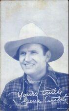 Cowboy Actor Gene Autry - Arcade Mutoscope Card