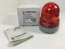 WERMA LED/Multi-Tone Sounder Combination 422-120-75 24 Volt New
