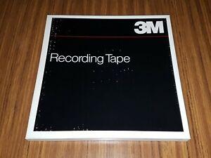 "Lot of 4 Scotch 3M Reel to Reel Tapes 10 1/2 Aluminum Metal Reels 1/4"" Tape"