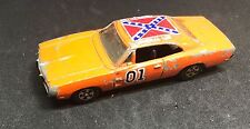 1981 DUKES OF HAZZARD GENERAL LEE REPLICA CAR 1/64 MADE IN SINGAPORE