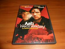 Ash Wednesday (DVD, Widescreen 2003) Elijah Wood, Edward Burns Used