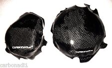 KTM EXC-F 250 350 4t 2017 2x carbon embrague tapa lima tapa cover