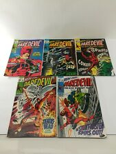Daredevil Comic Books, lot of 5 Silver Age, # 53, 54, 55, 56, and 58