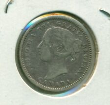 Canada 10 cents 1891 22 Leaves F15