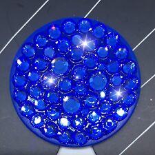 Bling Authentic Blue PopSocket w/ Blue Swarovski Crystals PopSockets iPhone LG