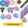 AGE 90 - Happy 90th Birthday Party Decorations (Oaktree) Banners & Bunting