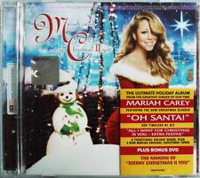 MARIAH CAREY Merry Christmas II You 2010 MALAYSIA Deluxe CD + DVD SET RARE NEW