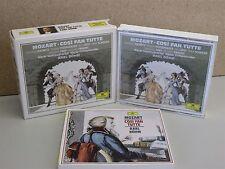 MOZART Cosi Fan Tutte 2-CD DG Box Set KARL BOHM (Janowitz/Fassbaender/Grist)