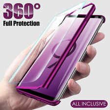 Hülle Samsung Galaxy S10 S10+ S9 S9+ Plus Full Cover 360 Grad Handy Schutz Case