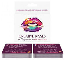 CREATIVE KISSES CARD GAME Adult FUN NAUGHTY GIFT Romantic Playing Sex Aid