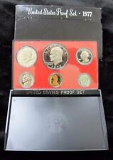 1977 Proof Set * 6 Coins * Includes Eisenhower Dollar and Kennedy Half
