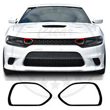 Upper Grille Bezel Overlay Decals Fits Dodge Charger 2019 2020 68417505Ab Gloss
