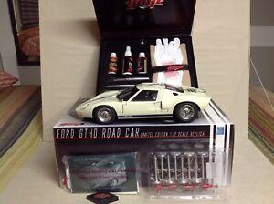 GT40 WHITE 1967 FORD ROAD CAR  #G1201313 GMP 1:12 150 Pcs FREE DETAIL KIT NICE