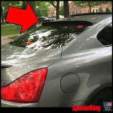 SpoilerKing #380R Rear Window Roof Spoiler (Fits: Infiniti G37 2d coupe 2008-13)