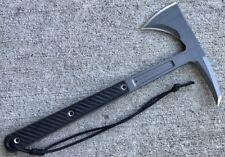 Rmj Tactical Kestrel Feather Tomahawk, 80Crv2 Steel, Black G-10 - Auth. Dealer