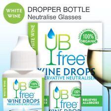 UBFree White Wine Drops - 3 Pack Sulfite Neutralizer