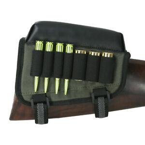 Tourbon Rifle&Shotgun Ammo Pouch Holder Cheek Rest Comb Riser Buttstock Right US