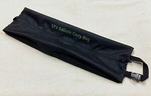 NEW British Army-Issue Black Virtus STV Ballistic Carry-Bag.