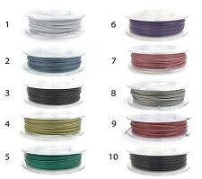 1mm Tiger Tail, Nylon Coated Stainless Steel Wire, Beading Wire, 10 meters