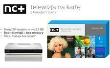 NC+ Pakiet Start+ 1 m-c Polsat Cyfra+ TNK nBox HD ITI 5800 TVP TVpl TVN