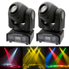 2Pcs 60W RGBW LED Moving Head Stage Light DMX 512 DJ Club Disco Party Light USA