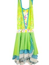 Green Mos w/ Crooy Design Recital/Dance Costume - Women's Adult Large