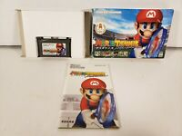 Mario Tennis Nintendo Game Boy Advance GBA Japan Import Complete in Box CIB
