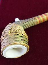 Antique clay pipe