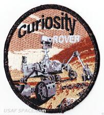 """MARS CURIOSITY ROVER - 4"""" ORIGINAL AB EMBLEM - NASA JPL SPACE PATCH - MADE USA"""