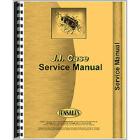 Service Manual Fits Case 530 Tractor (Gas and Diesel) (Construction King)
