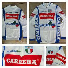 Maglia Ciclismo CARRERA JEANS 1986 CAMPIONE D'ITALIA rara!!