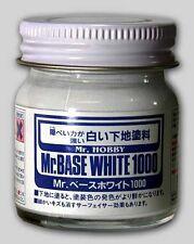 Mr. Hobby Mr. Base White 1000 Bottle 40ml PG MG HG RG model kit Bandai