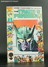 TRANSFORMERS #22 1986 Marvel Comics US G1 Aerialbots/Superion Stunticons/Menasor