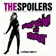 "THE SPOILERS Pump Action/ Lookout 7"" 45 RARE COLORED GARAGE ROCK VINYL 007"