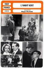 FICHE CINEMA : L'HABIT VERT - Popesco,Boucher,Berry,Richebé 1937