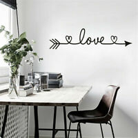 Removable Quote Art Decor Vinyl Wall Sticker Mural DIY Home Room Decal