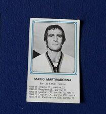 CALCIATORI PANINI 1978/79 Figurina n°431 MARTIRADONNA CAGLIARI rec