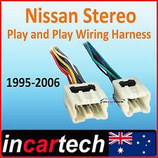 Nissan Patrol Navara Xtrail Pulsar Skyline Stereo/Radio Wiring Harness Loom Plug