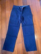 Tommy Hilfiger Boys Pants Size 12 Navy